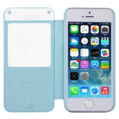 Husa Bohem Case pentru iPhone 5s, 5|Albastru| Baseus - Husa Telefon Baseus, iPhone 5/5S/SE