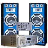 "Set complet Boxe DJ ""Bouncer"" Amplificator- Mixer - Mixere DJ"