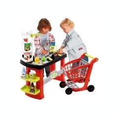 Supermarket cu Carucior Pro Shop - Carucior papusi