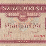 UNGARIA 100 forint 1984 VF-!!!