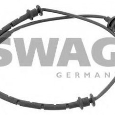 Senzor de avertizare, uzura placute de frana OPEL ASTRA G hatchback 1.2 16V - SWAG 40 91 7489 - Senzor placute