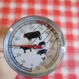 Termometru culinar cu tija termometru bbq 120 grade termometru lichide carne