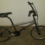 Bicicleta BMX Nespecificat gri, 22 inch, 20 inch