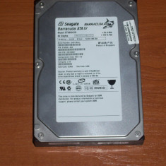 Hard disk/HDD 80Gb Seagate Barracuda ATA IV IDE functional, 40-99 GB