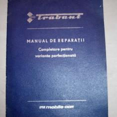 TRABANT, MANUAL DE REPARATII - Manual auto