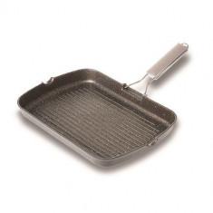 Tigaie grill antiaderenta Nava lungime 36 cm inductie - Aparat Gatit Aburi