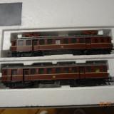 Trenulet electric automotor Roco, scara HO, pantografe intacte - Macheta Feroviara