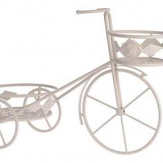 Suport metalic ghivece flori Bicicleta - Ghiveci