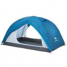 Cort camping 2 persoane si 2 spatii depozitare-montare usoara