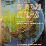 THE GLOBAL ATLAS, A NEW VIEW OF THE WORLD FROM SPACE by FRANK DEBENHAM , 1958