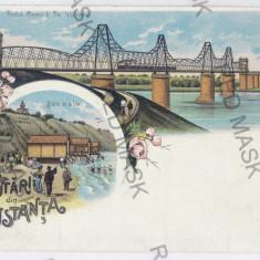 2798 - L i t h o, CONSTANTA - old postcard - unused - Carte Postala Dobrogea pana la 1904, Necirculata, Printata