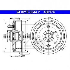 Tambur frana HYUNDAI AMICA ATOZ MX PRODUCATOR ATE 24.0218-0044.2