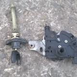 Broasca incuietoare cu butuc deschizator capota fata+cheie Ford Mondeo 2001-2007, MONDEO III (BWY) - [2000 - 2007]