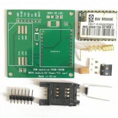 Shield Adaptor GSM SMS SIM pentru Arduino 5v 1A DIY M590E