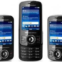 Sony-Ericsson w100 reconditionat - Telefon mobil Sony Ericsson, Negru, Nu se aplica, Neblocat, Fara procesor