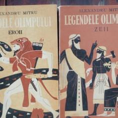 Carte de povesti - LEGENDELE OLIMPULUI - ALEXANDRU MITRU 2 VOLUME