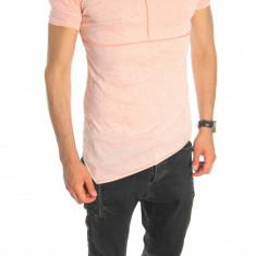 Tricou tip ZARA bleumarin - tricou barbati - tricou slim fit - 6544, Marime: S, M, L, XL, Culoare: Din imagine