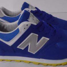 Adidasi NEW BALANCE 574 - Adidasi barbati New Balance, Marime: 41, 42, 43, Culoare: Albastru, Textil