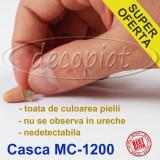 Colier handsfree si CASCA Japoneza MC1200 ptr examene casti de culoarea pielii