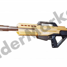Pusca cu gloante din burete si bile cu apa Python MG7 - Pistol de jucarie