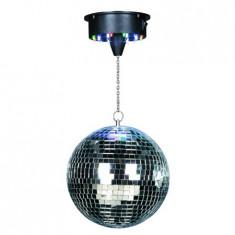 Lumini club - GLOB DISCO 8 inch/20CM CU MOTOR /18 LED-URI RGB DISCO1-20