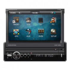 RADIO PLAYER 1 DIN 7 INCH GPS DVB-T BT PY PY9909 - CD Player MP3 auto