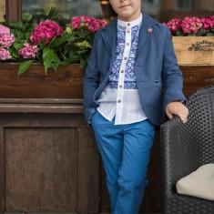 Sacou Iridor baieti Greece (Culoare: albastru, Imbracaminte pentru varsta: 12 ani - 152 cm)