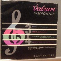 VALSURI SIMFONICE : WEBER/SIBELIUS/STRAUSS (ECD 90/ELECTRECORD)- VINIL/IMPECABIL - Muzica Clasica