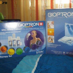 Zepter Bioptron Compact 3, cu 7 lentile color therapy, suport, oxy, carti tehnice