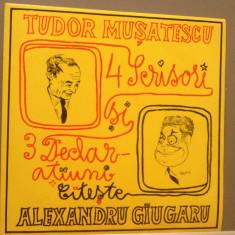 TUDOR MUSATESCU - SCRISORI/DECLARATIUNI(EXD 1210/ELECTRECORD) - VINIL/IMPECABIL - Muzica soundtrack