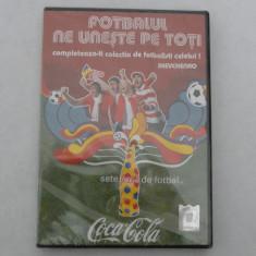 CD COLECTIA FOTBALISTI CELEBRI-SEVCHENCO - DVD fotbal