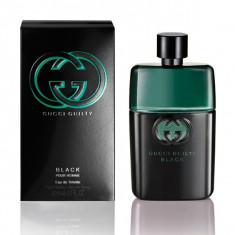 Gucci - GUCCI GUILTY POUR HOMME BLACK edt vapo 90 ml - Parfum barbati Gucci, Apa de toaleta