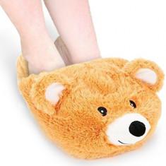 Papuci călduroși cu animale - Papuci copii