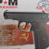 Pistol airsoft Makarov KWC /Full Metal/CO2