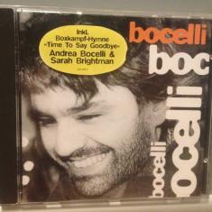 ANDREA BOCELLI - TIME TO SAY GOODBYE(1995/POLYDOR/UK) - CD APROAPE NOU/ORIGINAL - Muzica Clasica universal records
