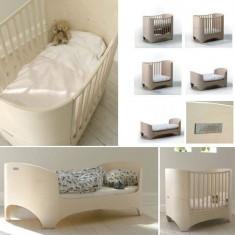 Patut bebe/copii LEANDER 120 -150 cm - Patut lemn pentru bebelusi, Alte dimensiuni