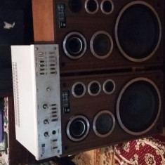 Amplificator audio - STATIE +BOXE UNITRA [75 W]