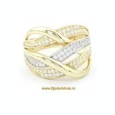Inel aur - Bijuterii aur galben inele de logodna colectii noi