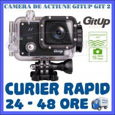 CAMERA DE ACTIUNE SPORT GITUP GIT2 WIFI, SENZOR SONY IMX206, QUAD HD 2K, 16 MPX - Camera Video Actiune
