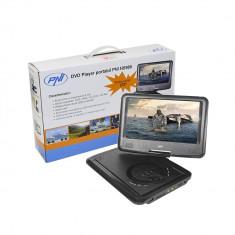 Resigilat - DVD Player PNI NS989 portabil cu ecran de 9 inch, slot card SD si USB - TV Auto