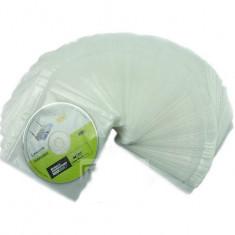 Plicuri duble de plastic pentru CD sau DVD 100 buc