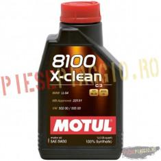 Ulei Motul 8100 X-CLEAN 5W30 1L PP Cod Produs: 102785 - Ulei motor Moto