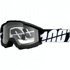 MXE Ochelari cross/enduro 100% Black Tornado lentila clara Cod Produs: 26011777PE - Ochelari moto