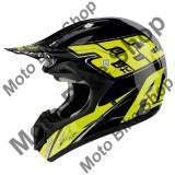 MBS Casca motocross Airoh Jumper Tc15, negru-galben-lucios, XL=61-62, Cod Produs: JTC15XLAU