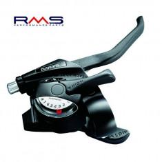 Set comenzi schimbator Shimano Revo 3x8V ST-EF40-2S PB Cod Produs: 525323400RM