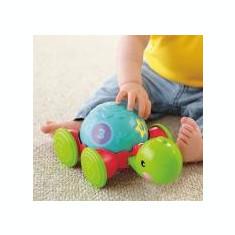 Jucarie testoasa bebelusi - Pull Along Turtle - Y8652 - Jucarie pentru patut