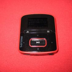 MP3 PHILIPS GoGear 4gb - MP3 player Philips, Rosu