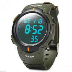 Skmei ceas, militar, outdoor, sport, digital, ceas verde, nou - Ceas barbatesc