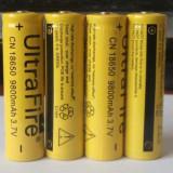 Acumulatori Li-Ion 3.7V cu protectie 18650 9800mAh - Baterie Aparat foto