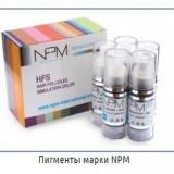 Pigmenti NPM pentru tatuaj cosmetic - micropigmentare scalp - Vopsea tatuaje